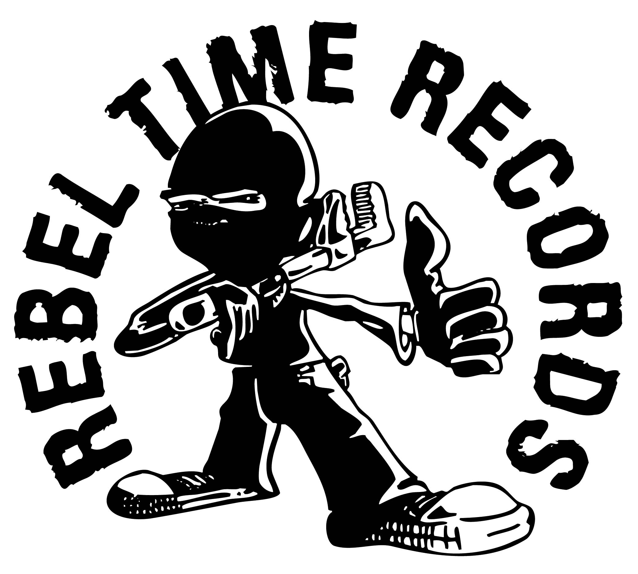 Rebel Time Records Circle Logo